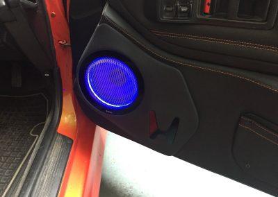 07-honda-civic-crx-custom-door-panel-speaker-build-black-orange-stitching