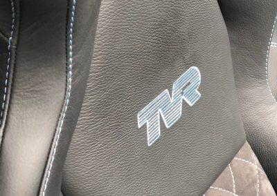 08-tvr-interior-retrim-leather-alcantara-embroidered-logo