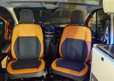 08-ford-custom-camper-leather-seats-orange-black