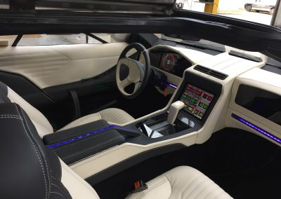 11-delorean-custom-leather-interior-transformation-ipad-install