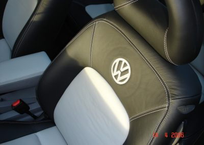 66-vw-beetle-leather-seats-black-grey-embroidered-logo