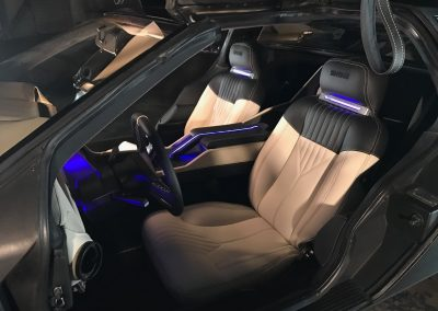 8-delorean-custom-leather-interior-transformation-LED-lighting